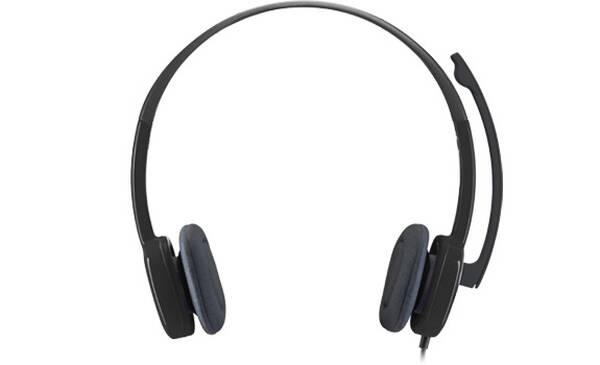 Headset Logitech H151 (981-000589) černý