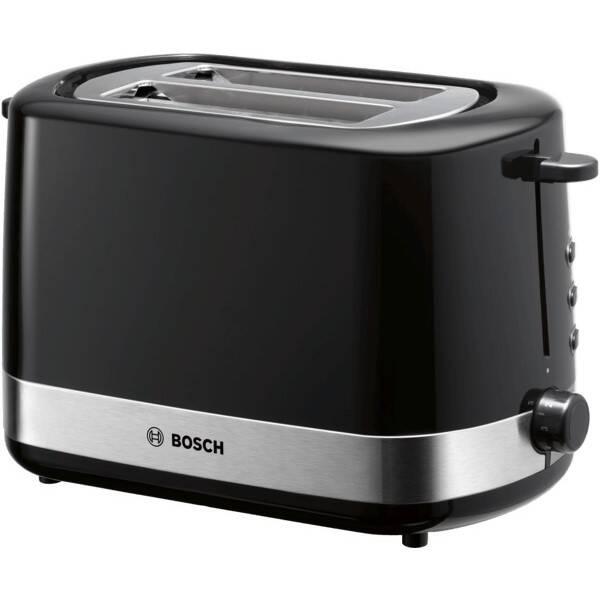 Opékač topinek Bosch TAT7403 černý/nerez