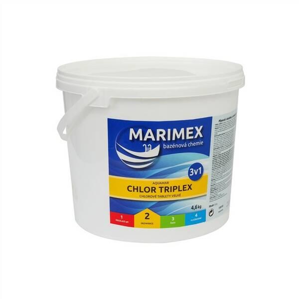 Bazénová chemie Marimex Chlor Triplex 3v1 4,6 kg