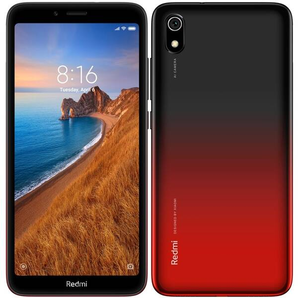 Mobilní telefon Xiaomi Redmi 7A 32 GB Dual SIM - gradientně červený (24592)