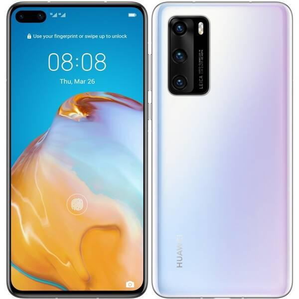 Mobilní telefon Huawei P40 (SP-P40128DSWOM) bílý