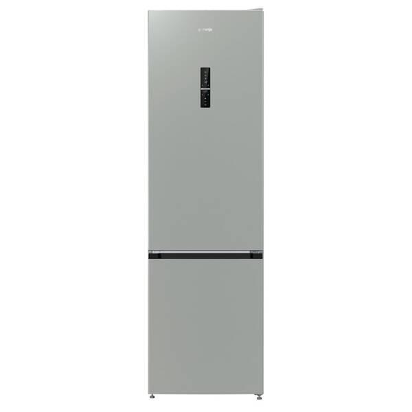 Chladnička s mrazničkou Gorenje NRK6203TX šedá