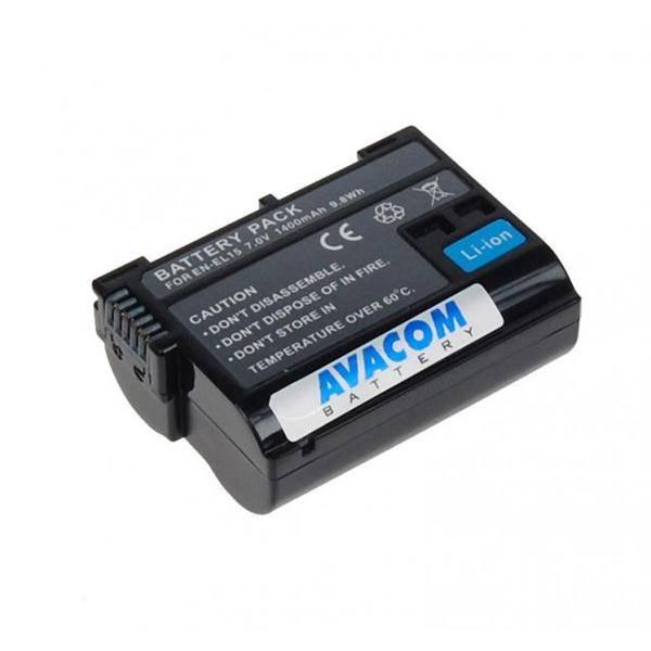 Batéria Avacom Nikon EN-EL15 Li-ion 7,2V 1400mAh (DINI-EL15-853)