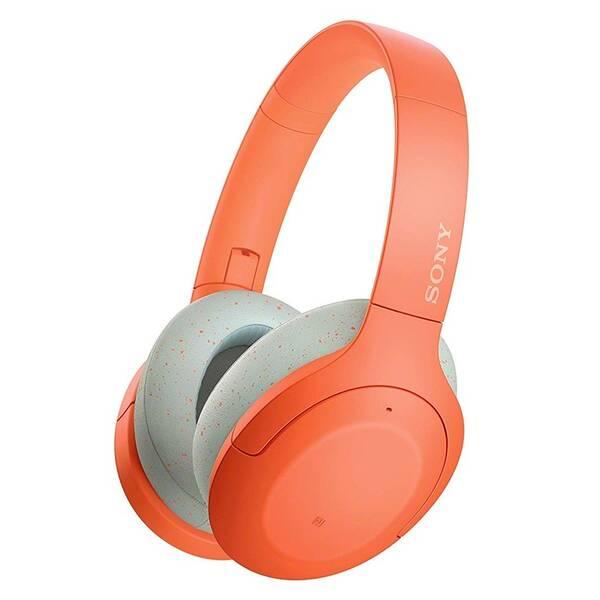 Slúchadlá Sony WH-H910N (WHH910ND.CE7) oranžová