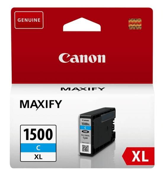 Cartridge Canon PGI-1500XL, 935 stran (9193B001) modrá
