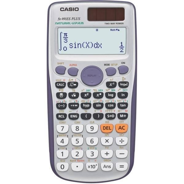 Kalkulačka Casio FX 991 ES PLUS šedá