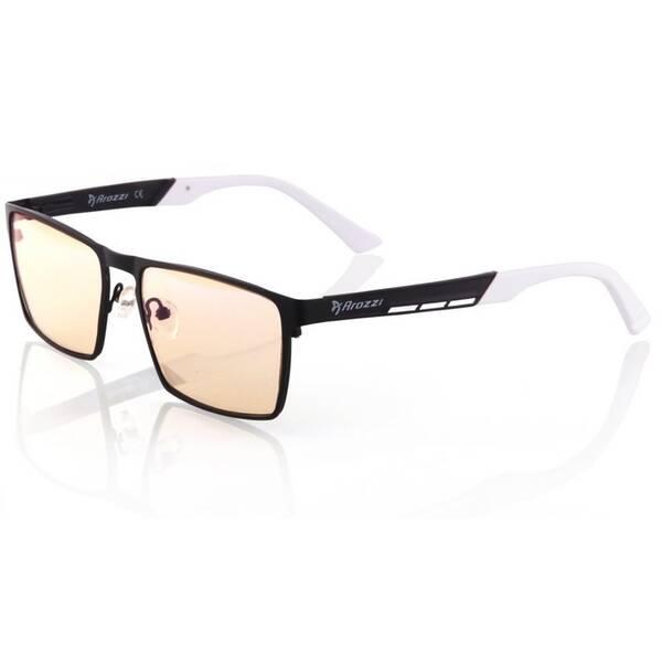 Herné okuliare Arozzi VISIONE VX-800, jantarová skla (VX800-2) čierne/biele