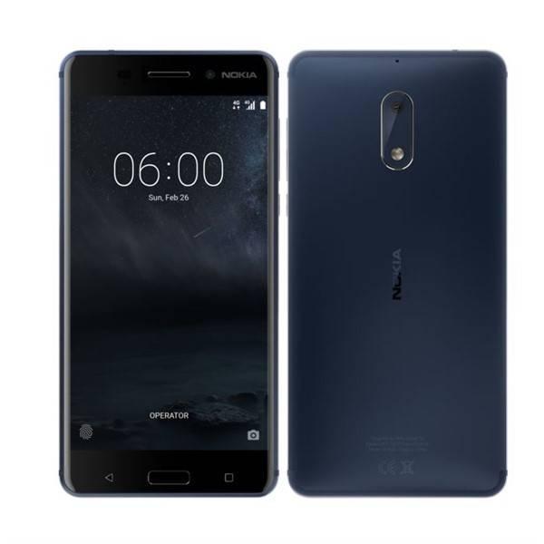 Mobilní telefon Nokia 6 Dual SIM (11PLEL01A08) modrý (vrácené zboží 8800009677)