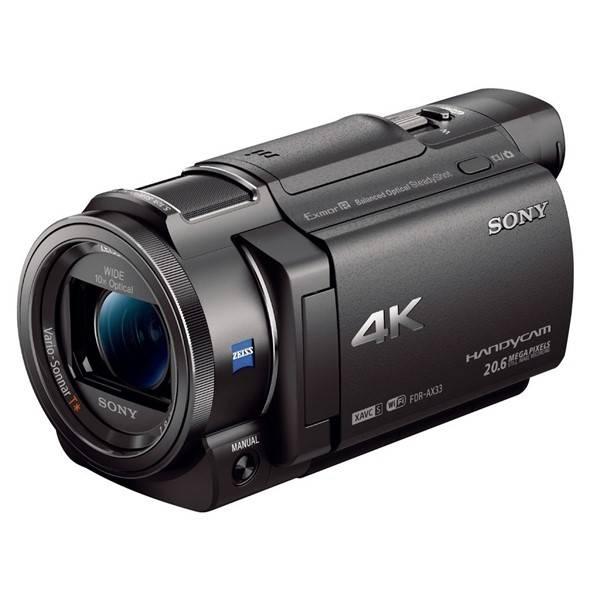 Videokamera Sony FDR-AX33B čierna