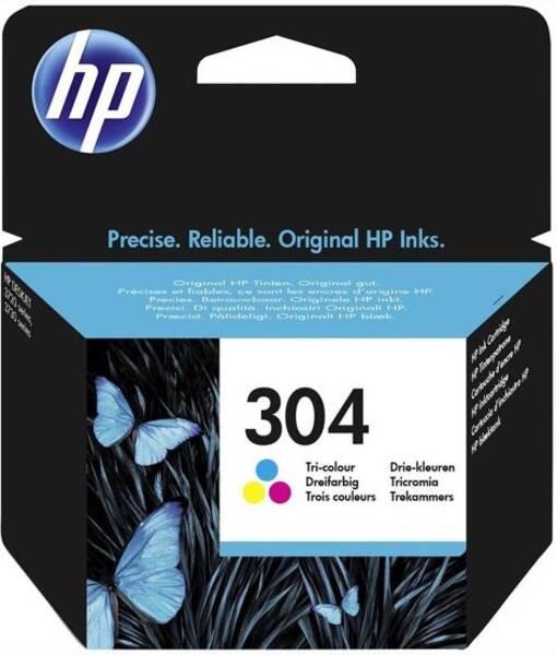 Cartridge HP 304 (N9K05AE), 100 stran - CMY (N9K05AE)