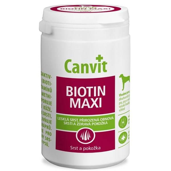 Tablety Canvit Biotin Maxi pro psy 500g new