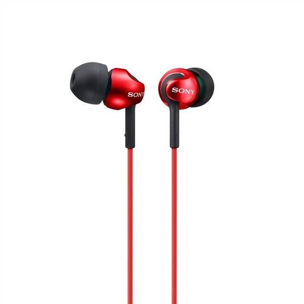 Sluchátka Sony MDREX110LPR.AE (MDREX110LPR.AE) červená