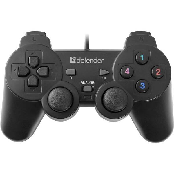 Gamepad Defender Omega pro PC (64247) černý