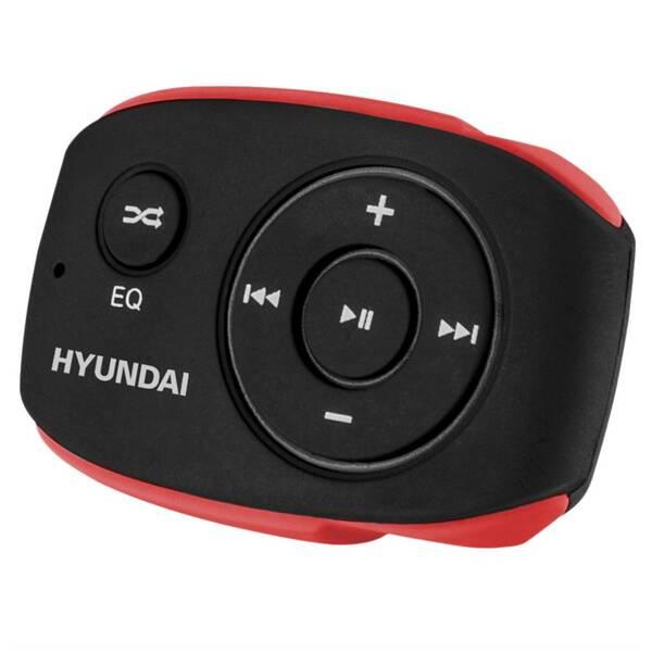 MP3 prehrávač Hyundai MP 312 GB8 BR čierny/červený
