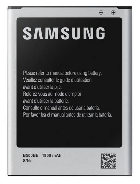 Batéria Samsung pro Galaxy S4 mini s NFC, Li-Ion 1900mAh (EB-B500BEBE) (EB-B500BEBECWW) biela