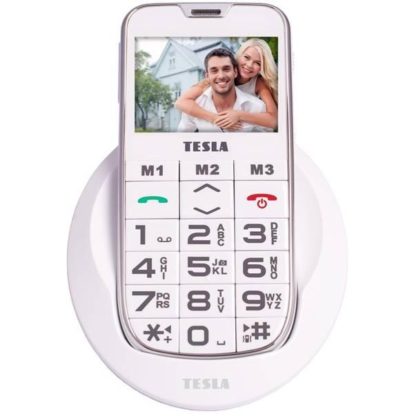 Mobilní telefon Tesla SimplePhone A50 (TAMBPSNA50WH) bílý (vrácené zboží 8800286805)