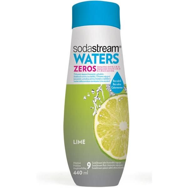 Příchuť pro perlivou vodu SodaStream ZEROS Limetka 440ml