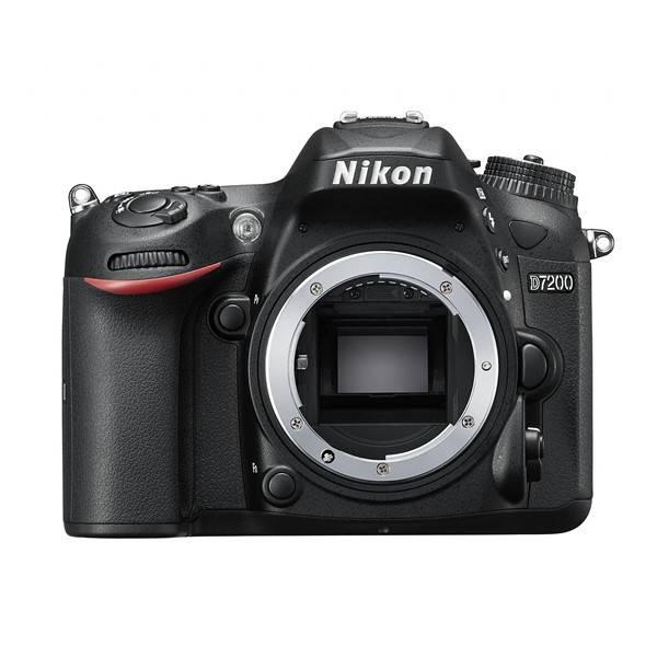 Digitální fotoaparát Nikon D7200 tělo černý