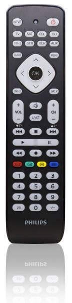 Diaľkový ovládač Philips SRP2018/10 (SRP2018/10) čierny