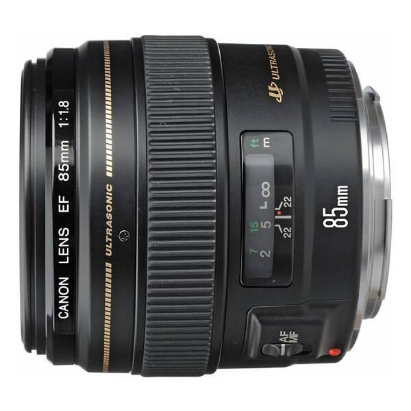 Objektív Canon EF 85 mm f/1.8 USM (2519A019AA) čierny
