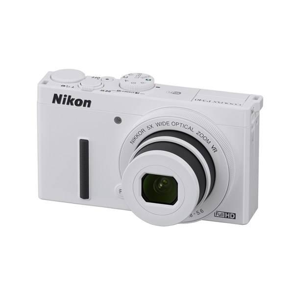 Digitální fotoaparát Nikon Coolpix P340 bílý