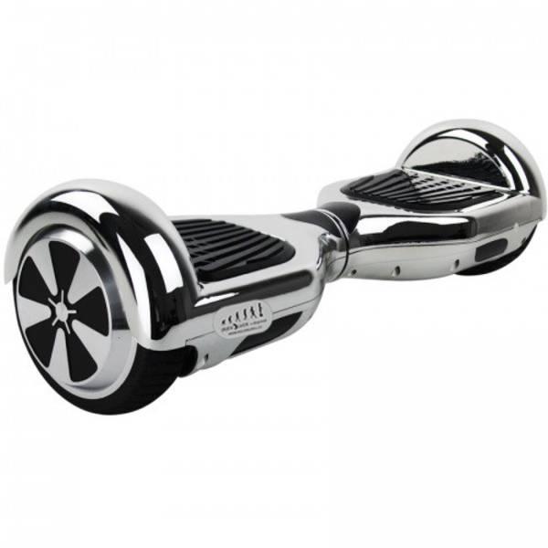 Hoverboard Kolonožka Chrom stříbrný