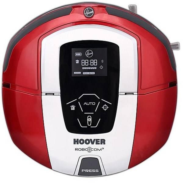 Robotický vysavač Hoover RoboCom3 RBC040/1 011 červený (vrácené zboží 8800207269)