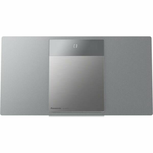 Mikrosystém Panasonic SC-HC412EG-S stříbrný (rozbalené zboží 8800374810)