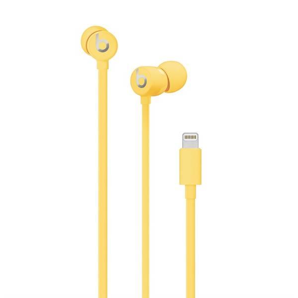 Sluchátka Beats urBeats3 s Lightning konektorem (MUHU2EE/A) žlutá