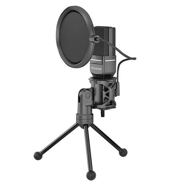 Mikrofón Marvo MIC-03 (MIC-03) čierny