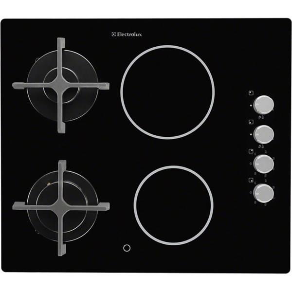 Kombinovaná varná deska Electrolux EGE6172NOK černá