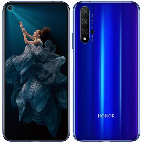Mobilní telefon Honor 20 Dual SIM (51093VCP) modrý