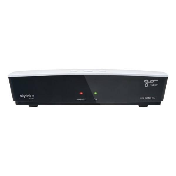 Satelitní přijímač GoSat GS7010 HDi černý/bílý (vrácené zboží 8800206727)