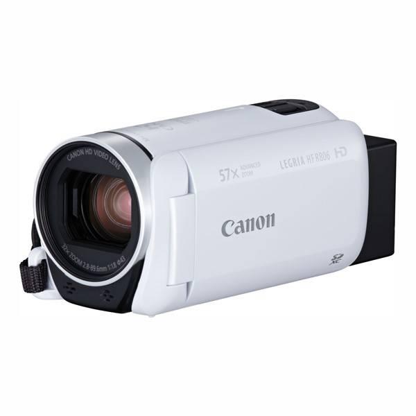 Videokamera Canon LEGRIA HF R806 Essential Kit + pouzdro + karta (1960C018) biela