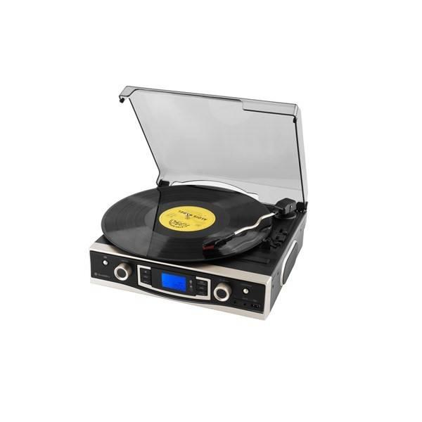 Gramofon GoGEN MSG262BTU černý (poškozený obal 2300019478)