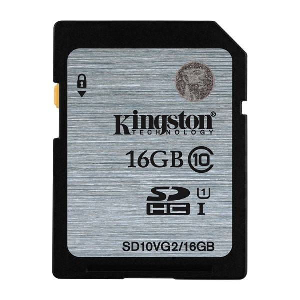 Pamäťová karta Kingston SDHC 16GB UHS-I U1 (45R/10W) (SD10VG2/16GB)
