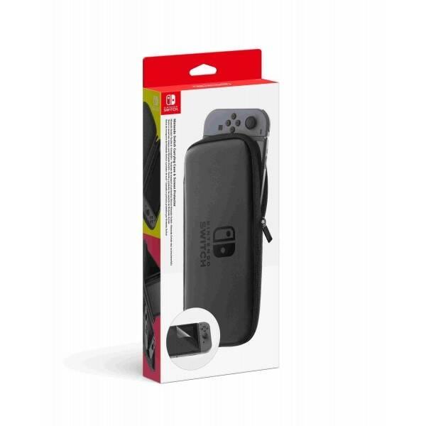 Pouzdro Nintendo Switch Carrying Case & Screen Protector (NSP130) černé