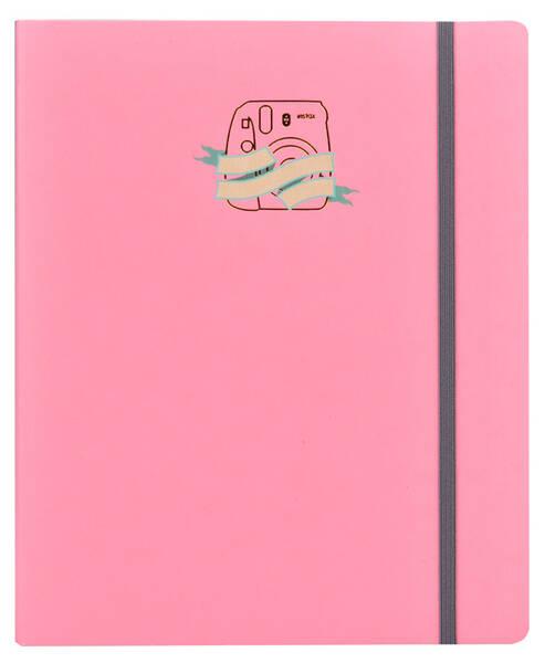 Fotoalbum Fujifilm Instax Accordion Scrapbook Pink