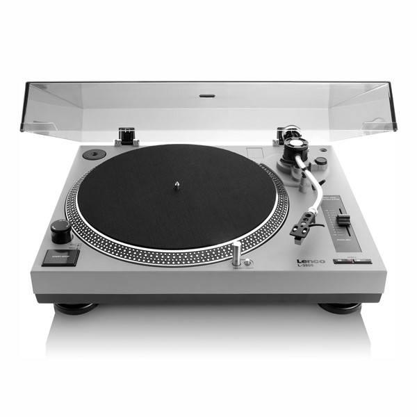 Gramofon Lenco L-3808 (l3808g) šedý