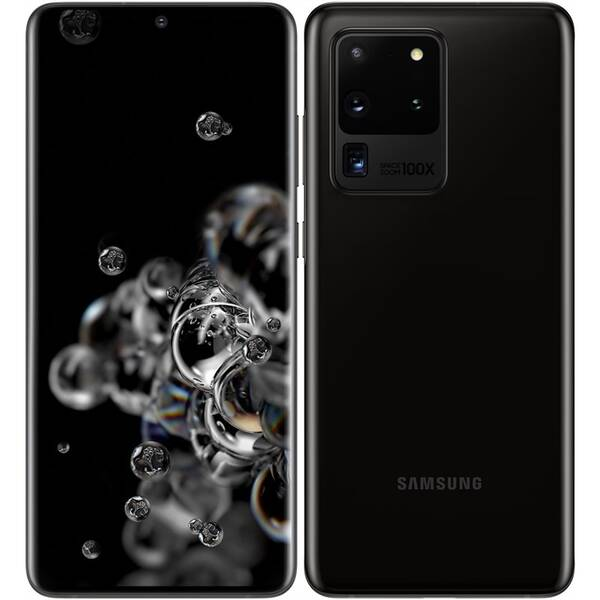 Mobilní telefon Samsung Galaxy S20 Ultra 5G (SM-G988BZKDEUE) černý