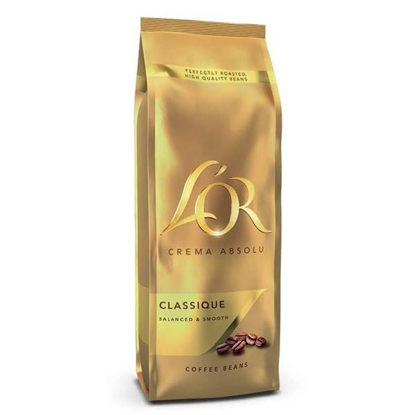 Káva zrnková Jacobs L'OR Crema Absolu CLASSIQUE 500g