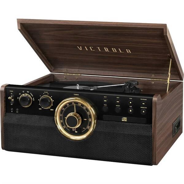 Gramofón Victrola VTA-270B drevený