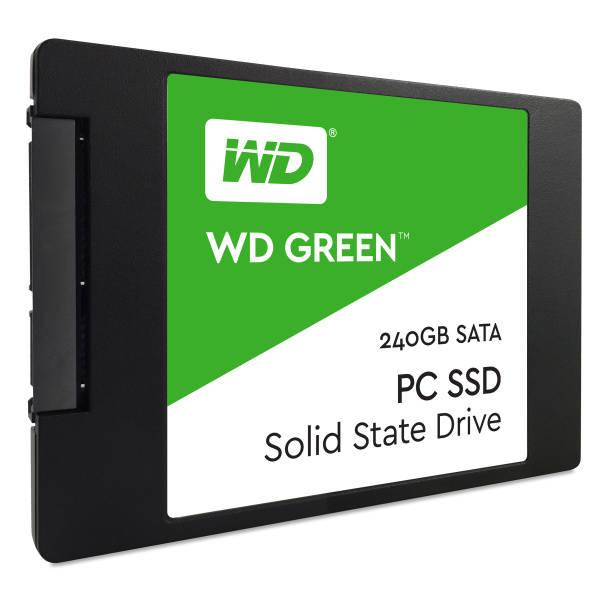 SSD Western Digital Green 2.5'', 240GB, SATA/600, 7mm, 3D NAND (WDS240G2G0A)