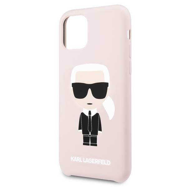 Kryt na mobil Karl Lagerfeld na Apple iPhone 11 (KLHCN61SLFKPI) ružový