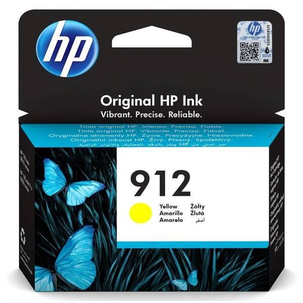 Inkoustová náplň HP 912, 315 stran (3YL79AE) žlutá