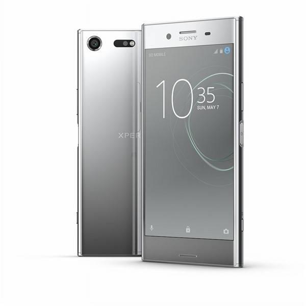Mobilní telefon Sony Xperia XZ Premium Dual Sim (G8142) - Chrome Silver (1308-4123)