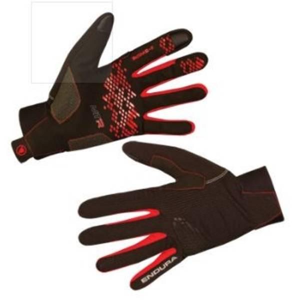 Rukavice Endura MTR II, vel. L - Black/Red (Náhradní obal / Silně deformovaný obal 8800148154)