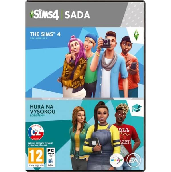 Hra EA The Sims 4 Základní hra + Hurá na vysokou (EAPC05169) (vrácené zboží 8800551892)