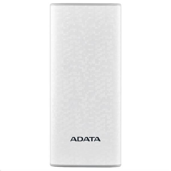 Powerbank ADATA P10000 10000mAh (AP10000-DUSB-CWH) bílá