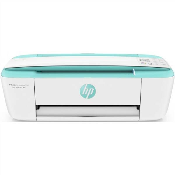 Tiskárna multifunkční HP Deskjet Ink Advantage 3789 (T8W50C#A82) zelená barva